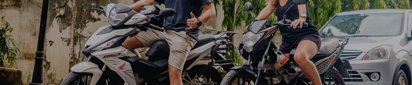 Rental motorbikes for travelling Vietnam