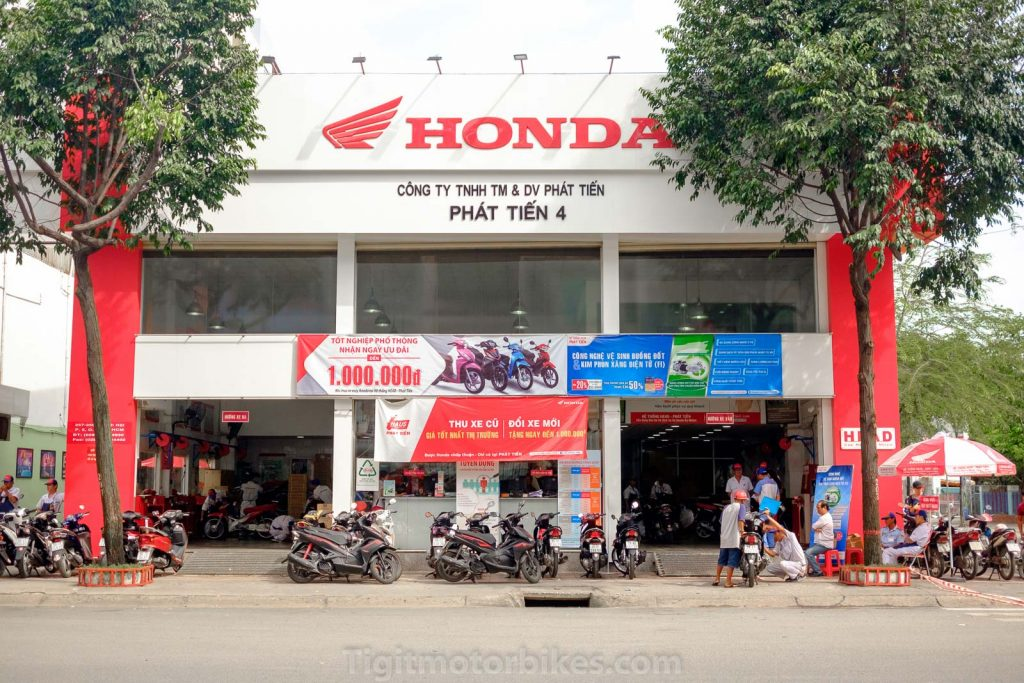 Honda Genuine Motorbike Shop