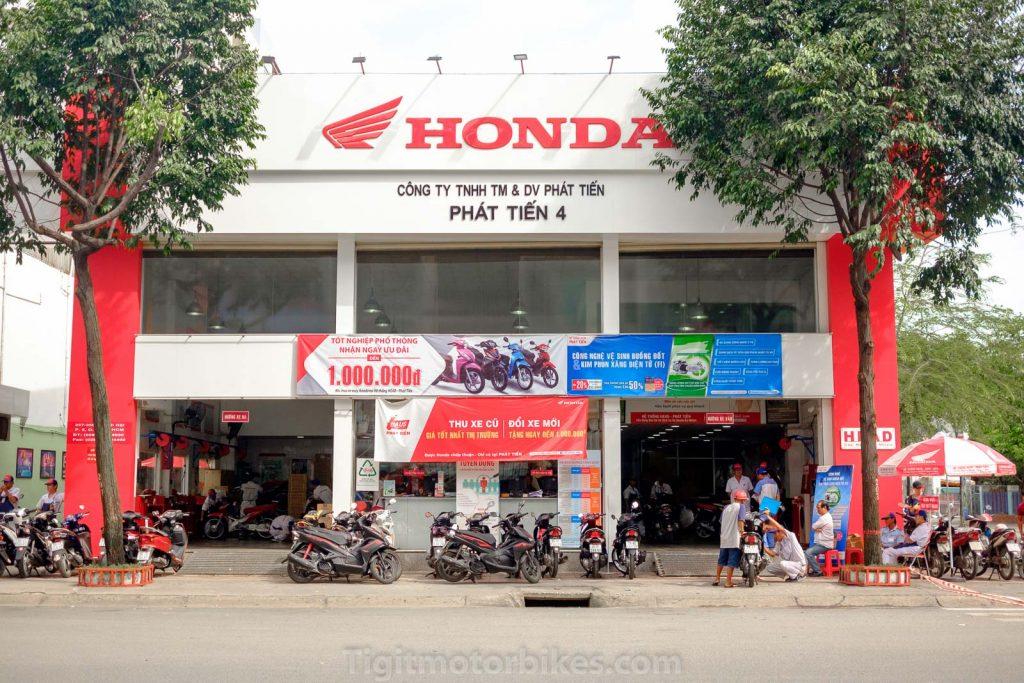 Honda Genuine Motorbike Shop