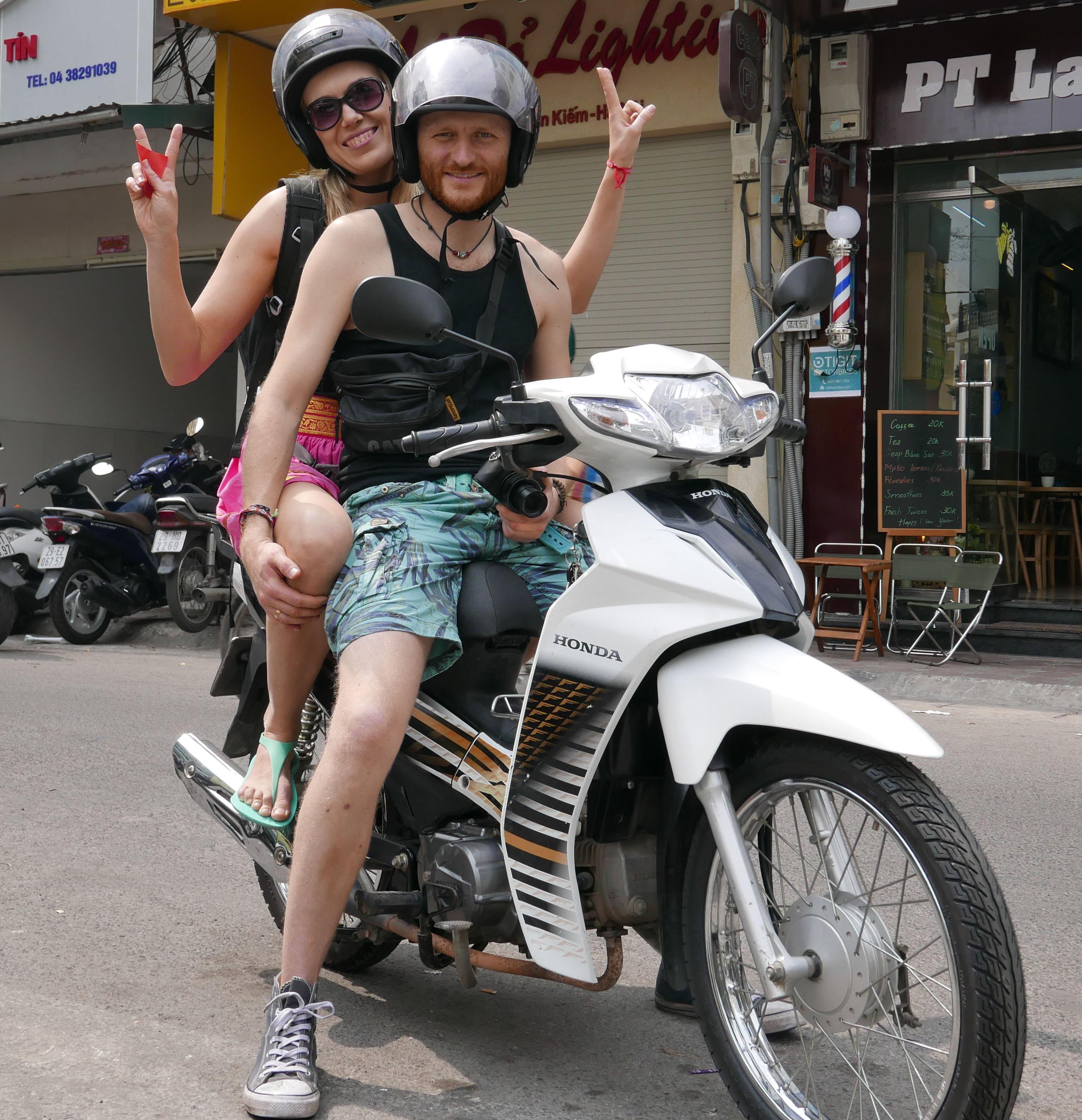 Hanoi scooter hire