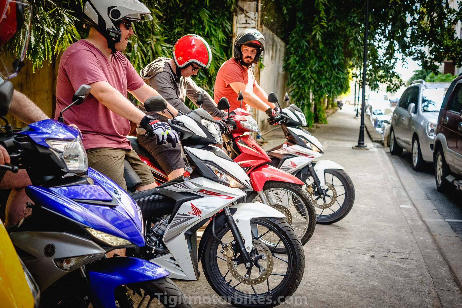 Long distance travel Vietnam Scooter