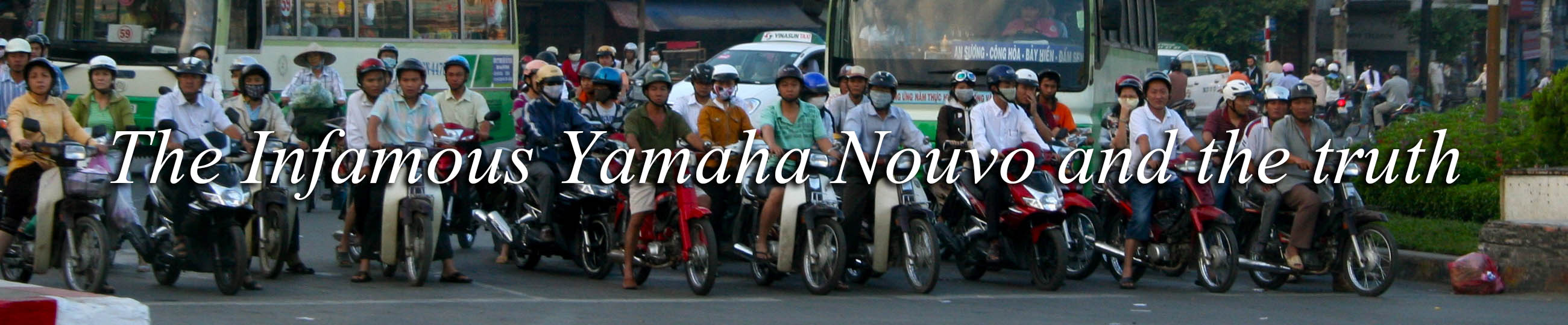 City rentals and bashing the Yamaha Nouvo