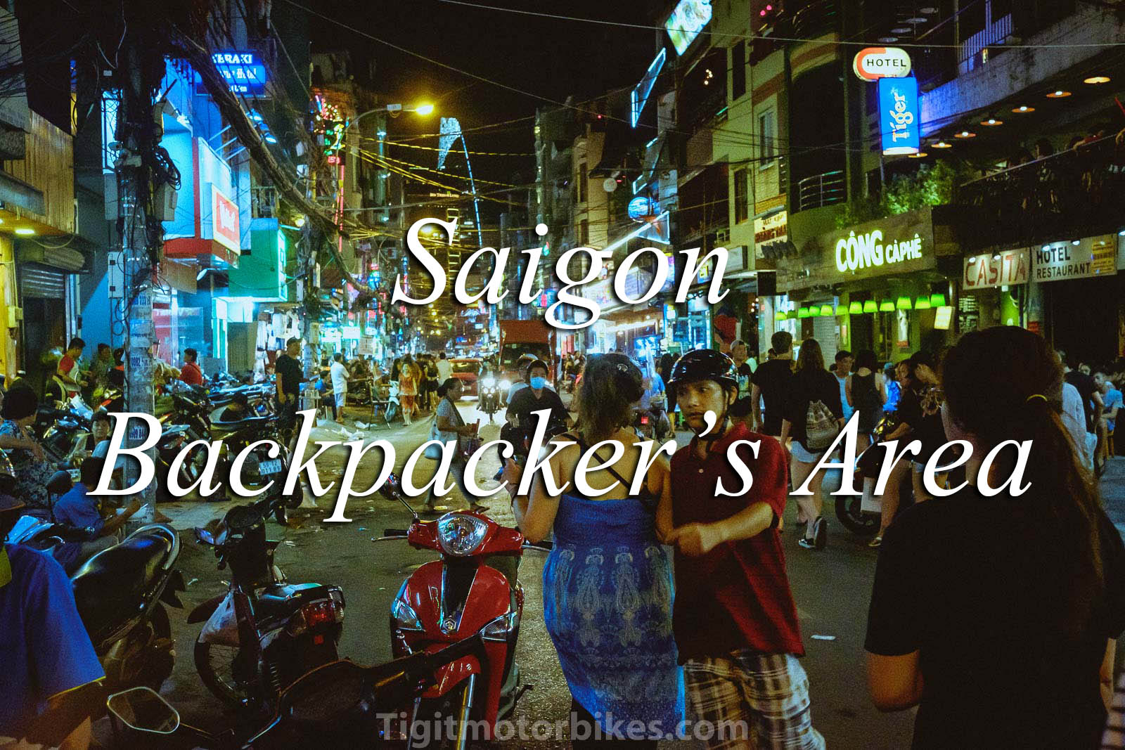 Saigon backpacker's Area