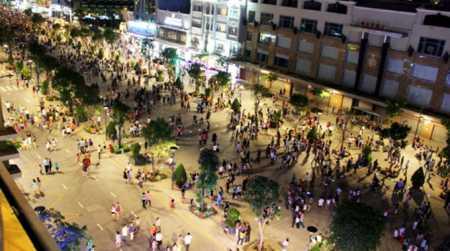 Nguyen Hue Pedestrian Street