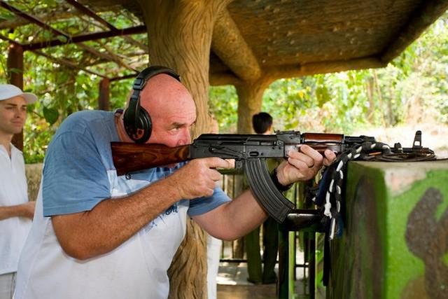 Cu Chi shooting range