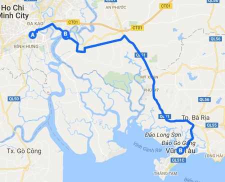 HCM to Vung Tau