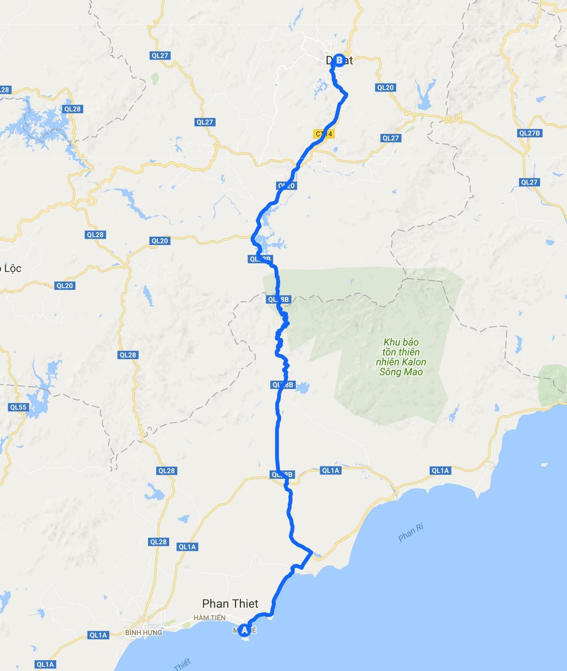 Vietnam Routes And Maps By Motorbike