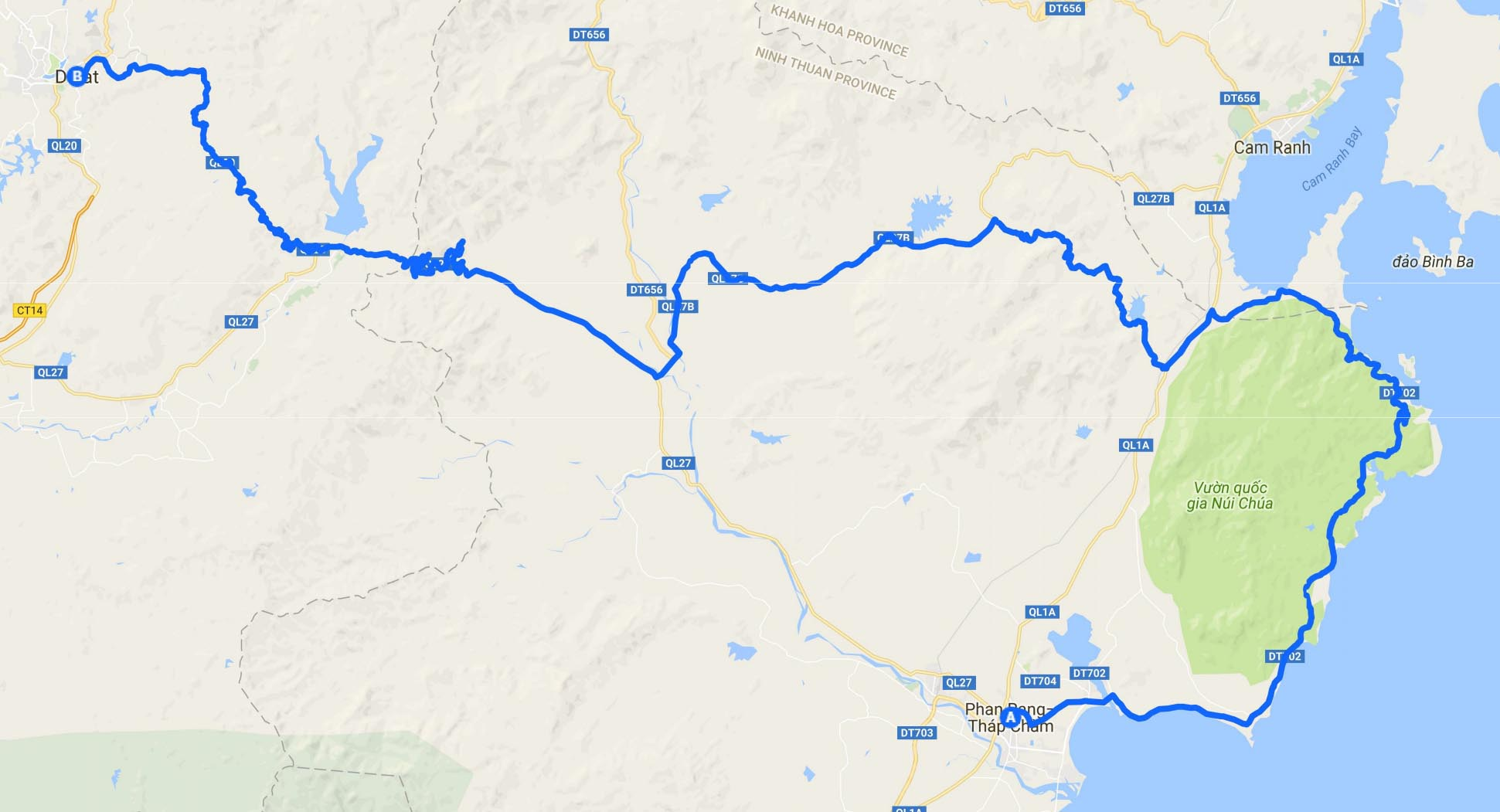 Phan Rang Vietnam Map.Vietnam Routes And Maps By Motorbike