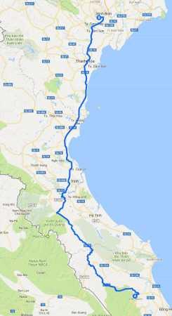 Phong Nha to Ninh Binh