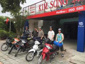 Danang motorbike shop