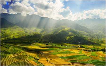 Mu Cang Chai - view from Khau Pha pass