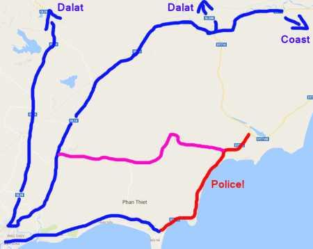 Mui Ne Map