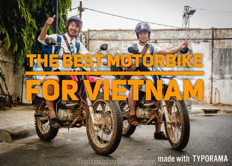 Best Motorbike To Drive In Vietnam: Honda XR150L