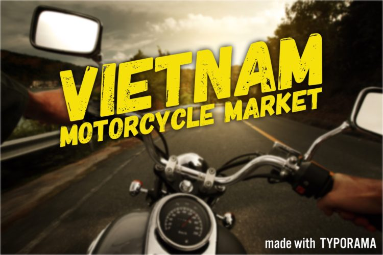 Motorcycle for sale in Vietnam