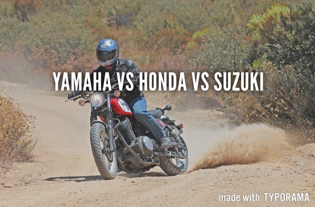 Motorbike rentals, Yamaha, Suzuki and Honda comparisons!