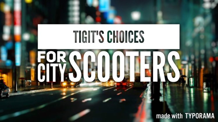 City rental and which scooter to choose