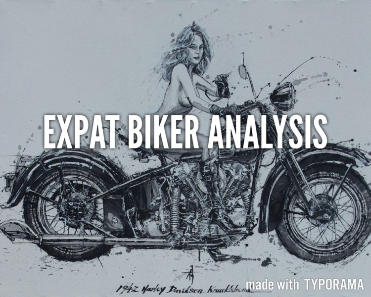 What does your motorbike tell about you?