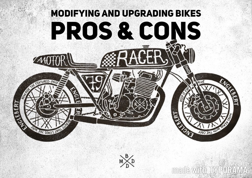 Motorbike Modifications and upgrades