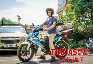 Tobias from Belgium – Honda Winner to Hanoi