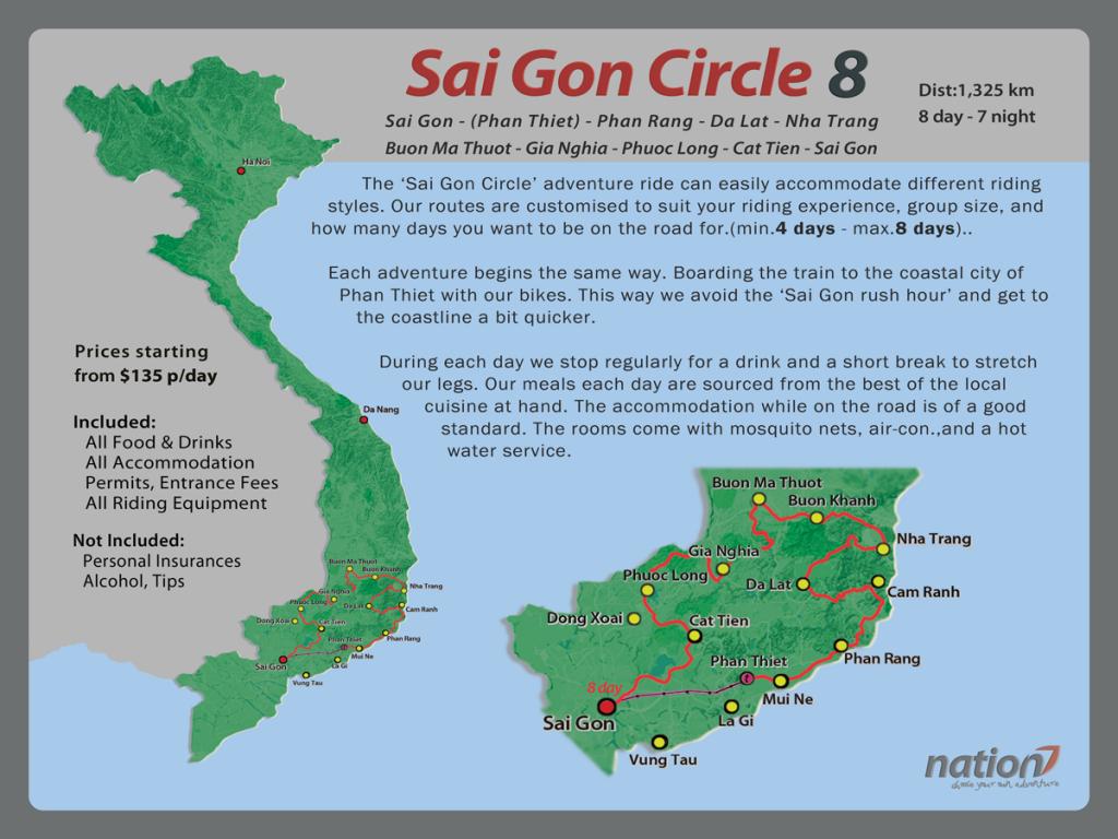 Saigon Circle 8 days