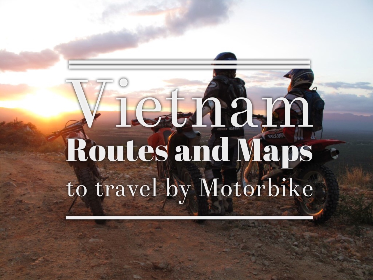 Vietnam routes and maps by motorbike - TigitMotorbikes