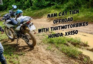 Nam Cat Tien 2 days loop with Tigit Honda XR150