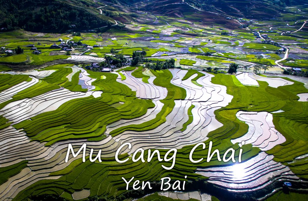 Mu Cang Chai from above
