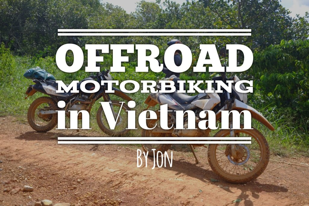 Offroad motorbiking in Vietnam
