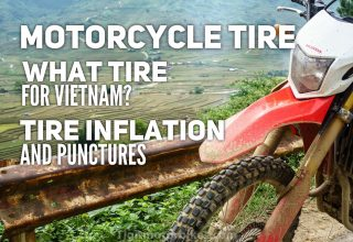 Motorbike Tires in Vietnam and what Tigit uses