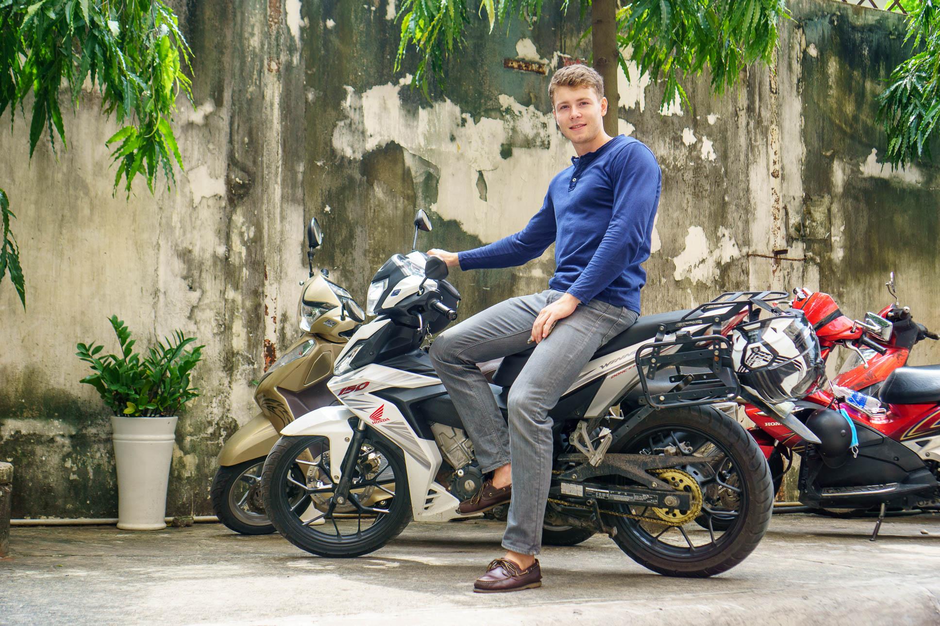 Yamaha Exciter Rental Hanoi