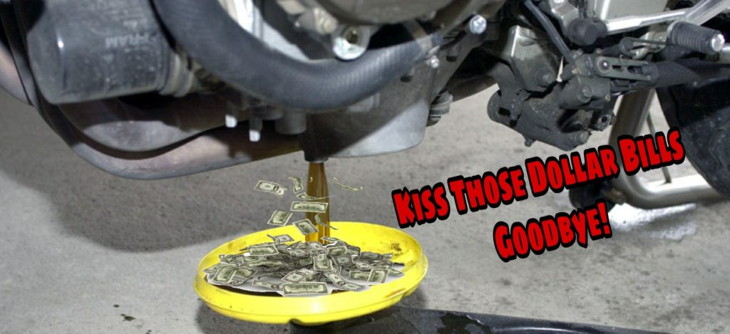 Money Draining From Your Bike