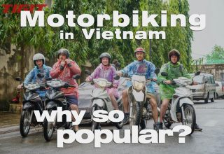 Why is Vietnam so popular for travelling by motorbike
