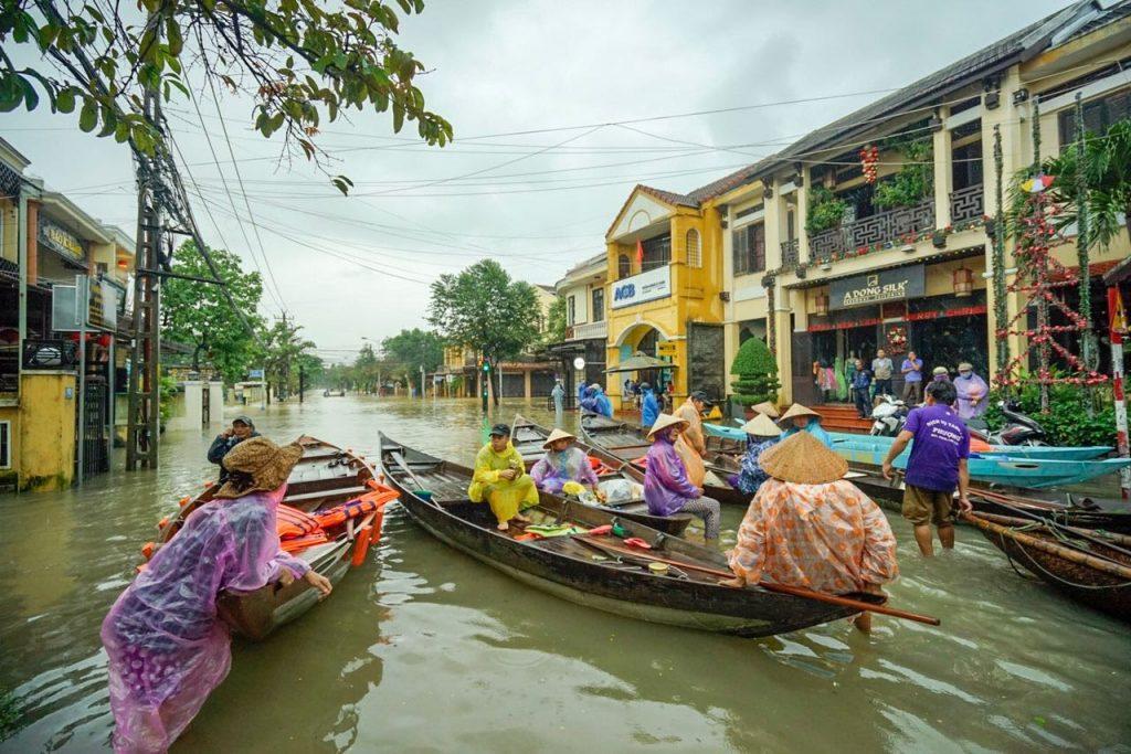 Hoi An flooded