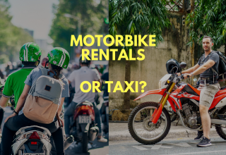 Motorbike rentals or Taxi?