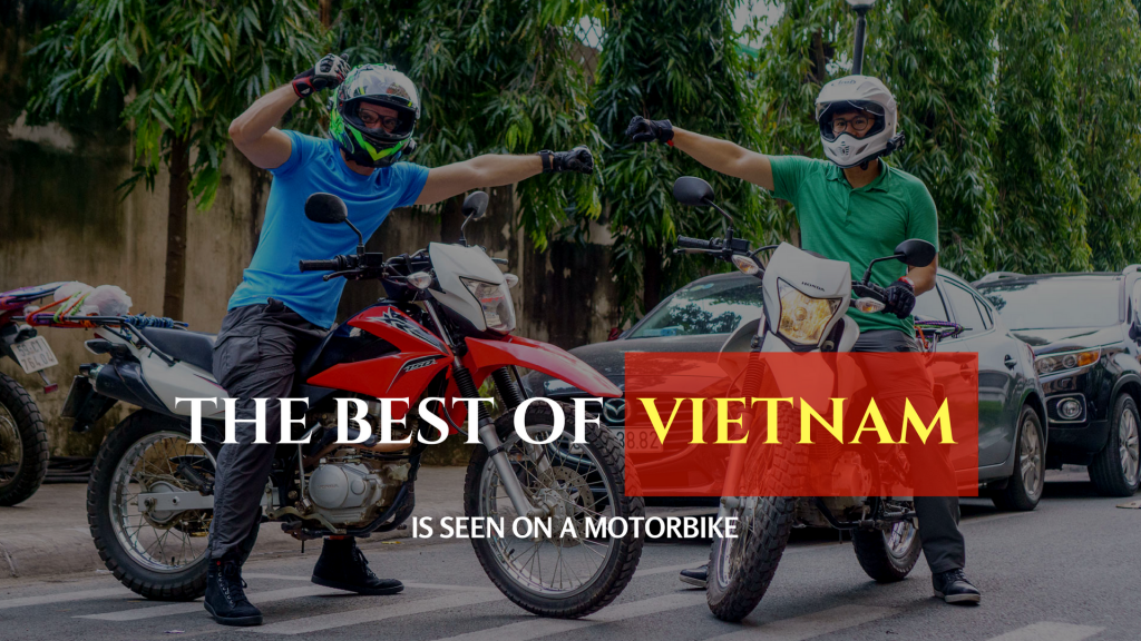 Motorbike tours through a guides eyes