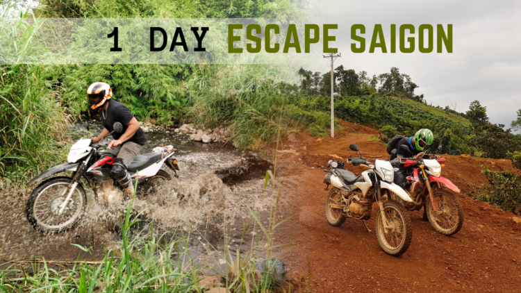 1 Day Escape Saigon by Motorbike