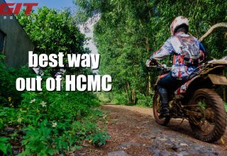 the best way out of ho chi minh by motorbike
