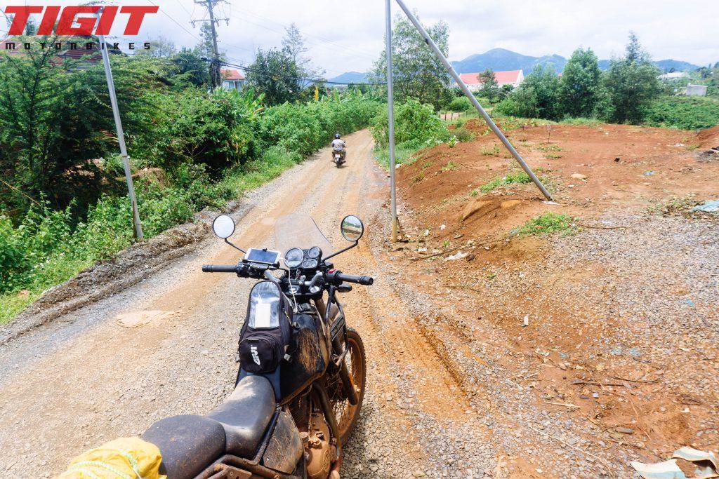Ho Chi Minh to Dalat by motorbike