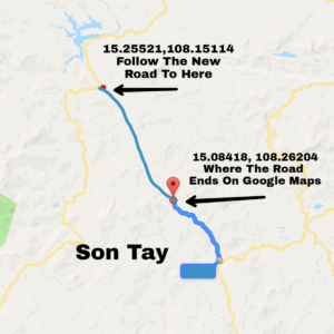 map to Son Tay