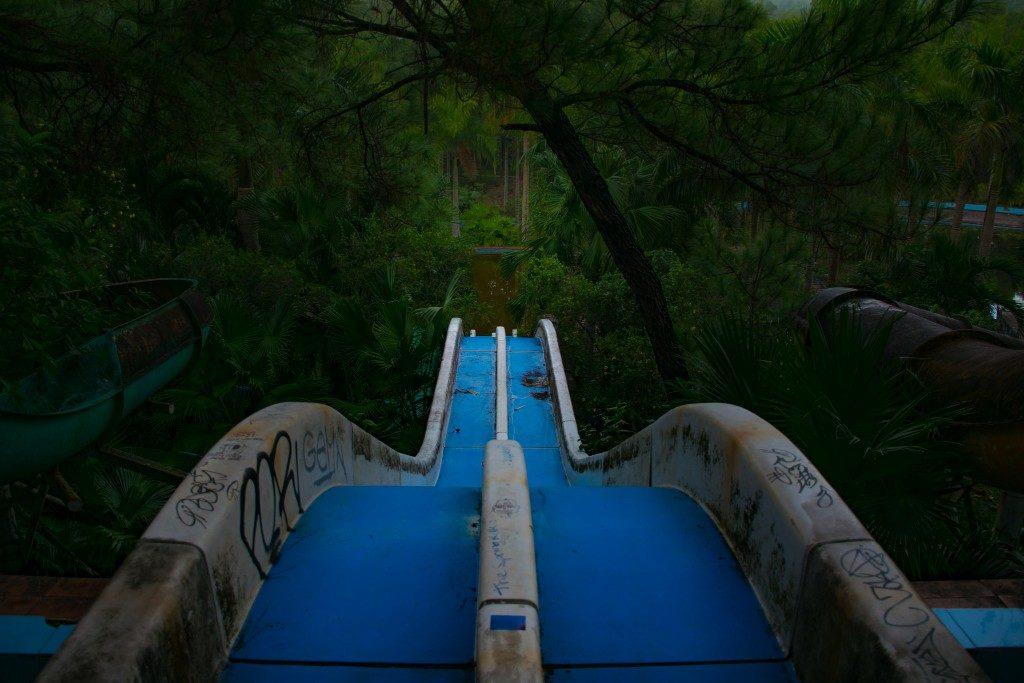 abandoned slide Hue