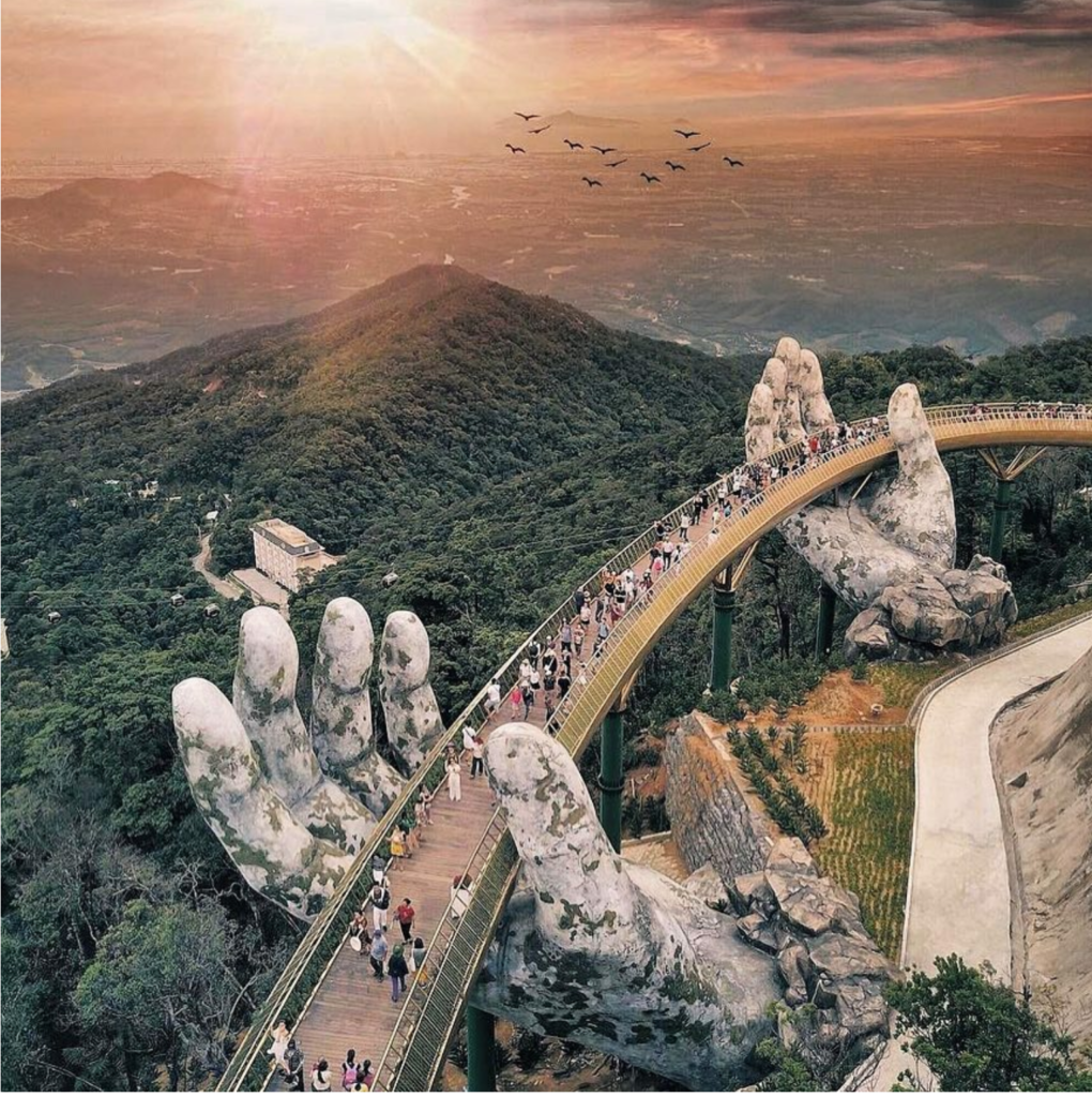 Golden Bridge Ba Na Hills