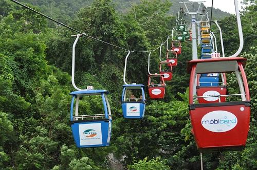 Ba Ra cable car