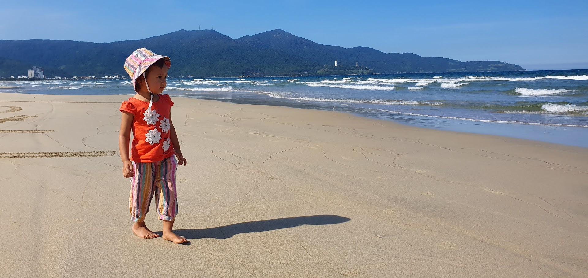Enjoying Danang Beach