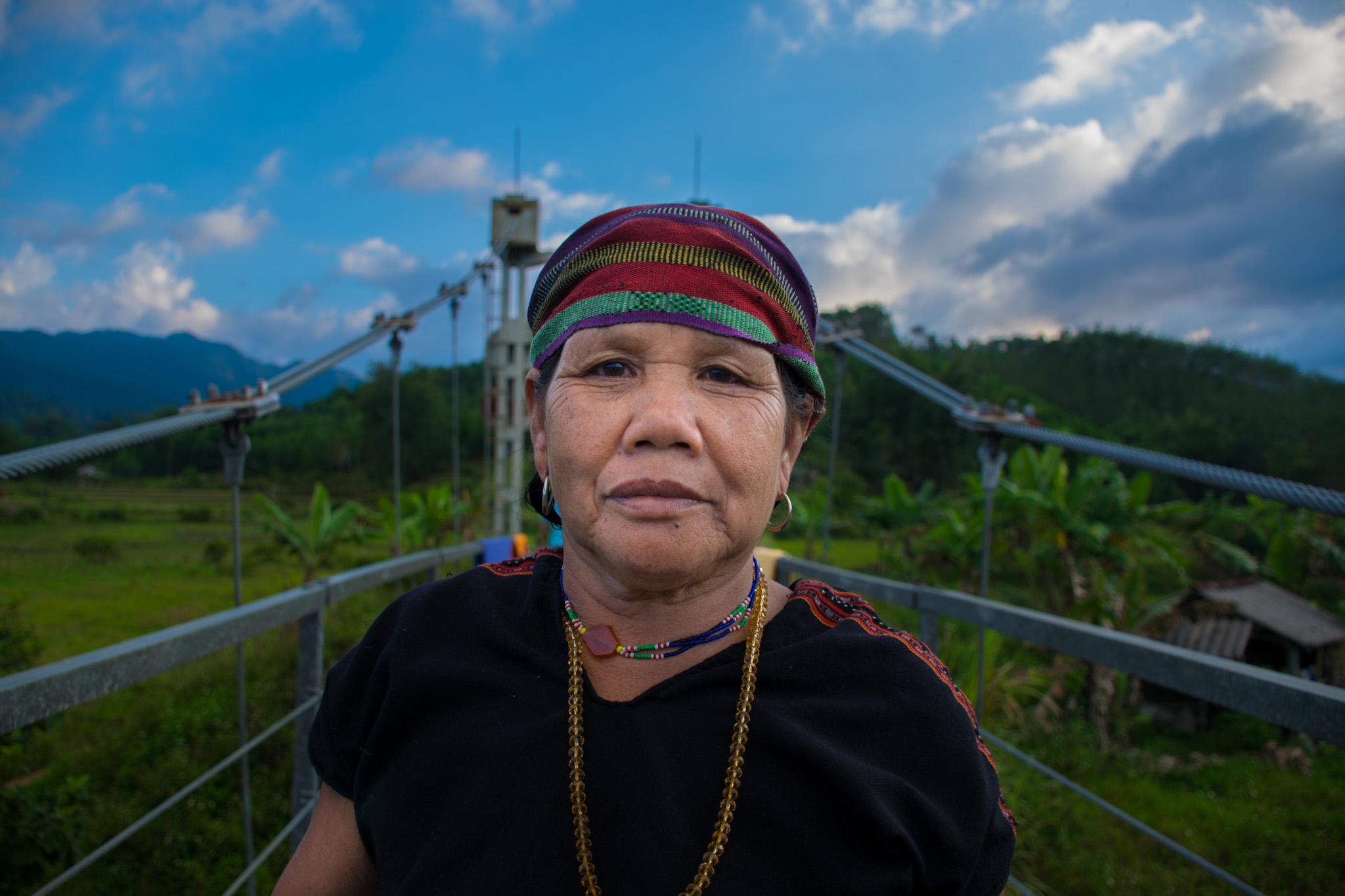 Local Vietnamese Woman HCM Highway