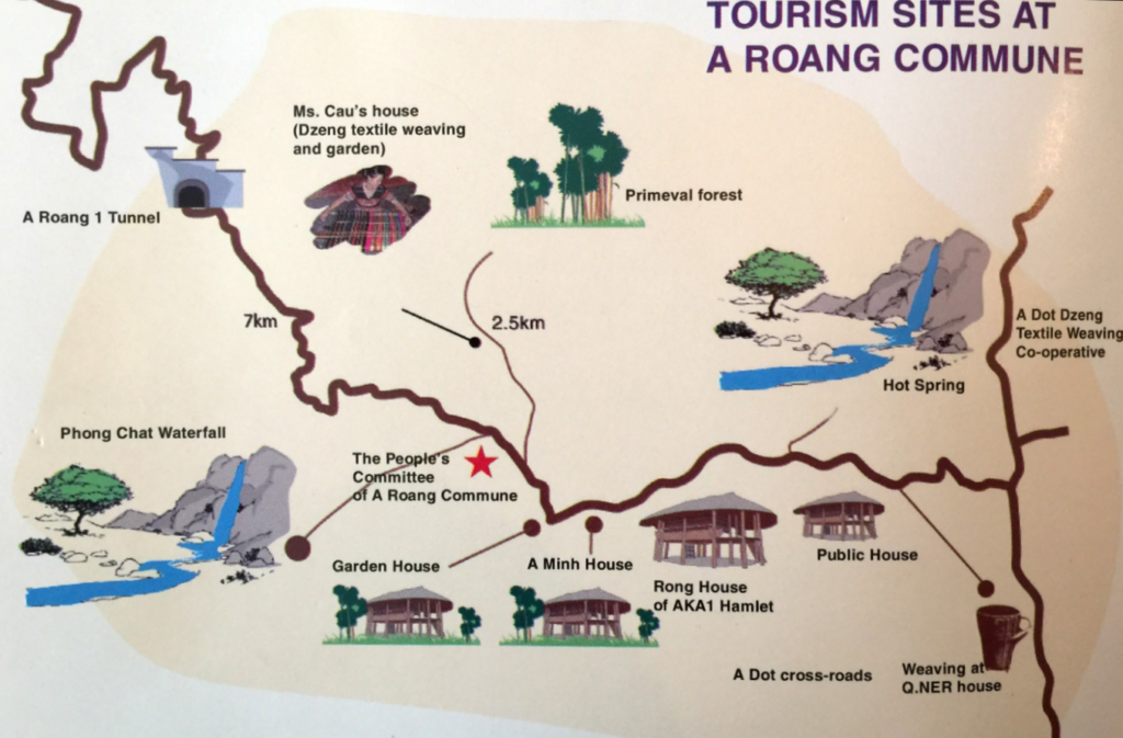 A Roang Commune Map