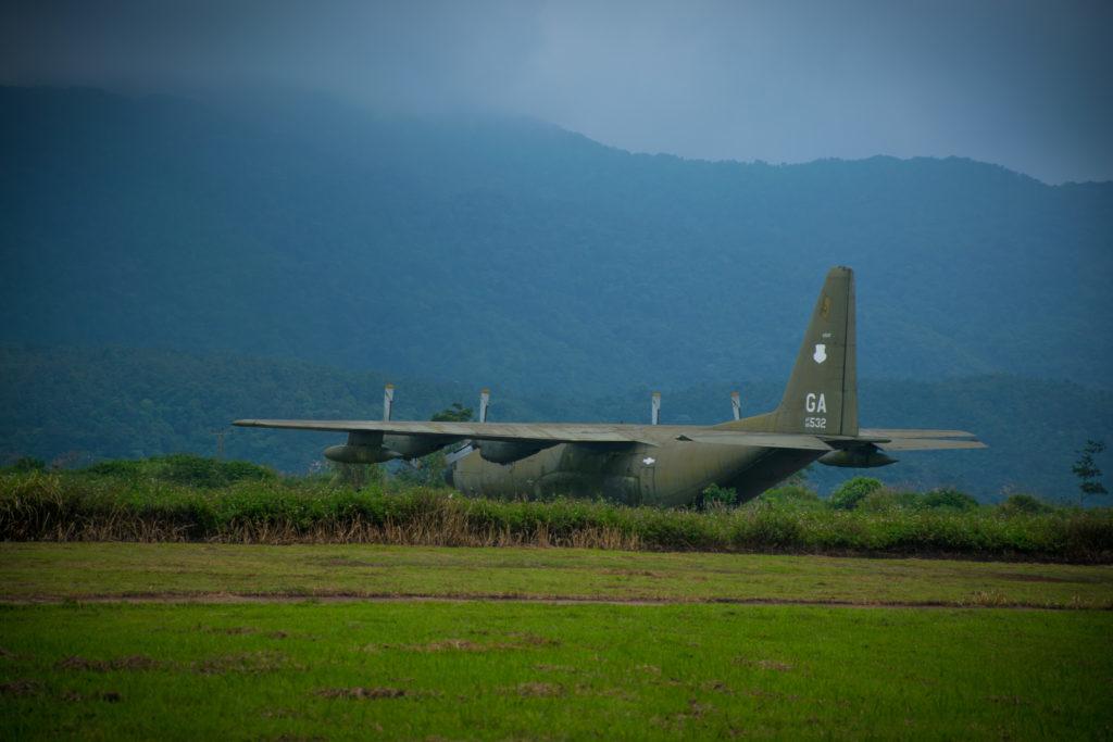 Military Plane Khe Sanh Combat Base