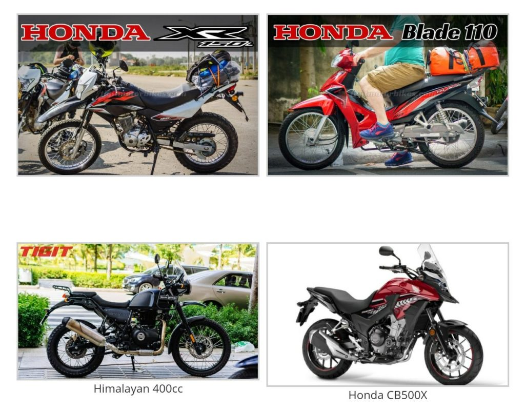motorcycle options