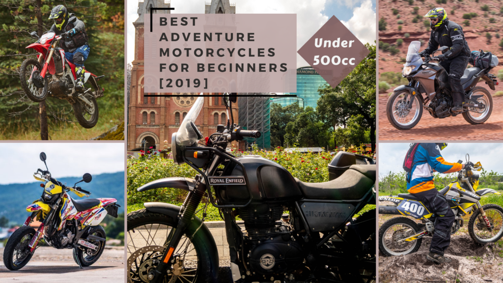 Best ADV Motorbikes for Beginners [2019] - Under 500cc