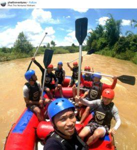 Whitewater rafting Dalat