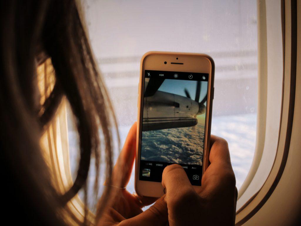 Airplane Cellphone